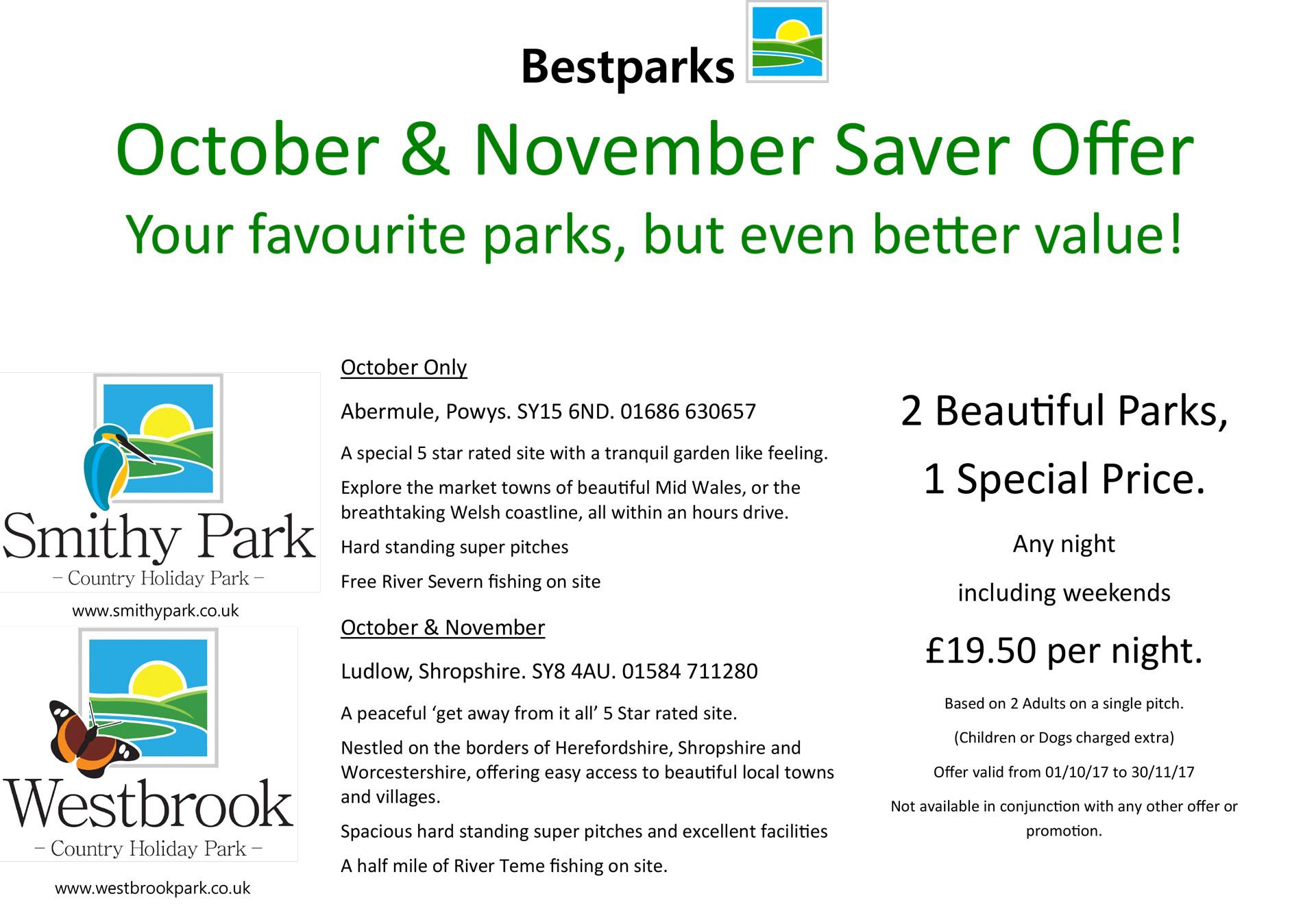 October/ November Offer